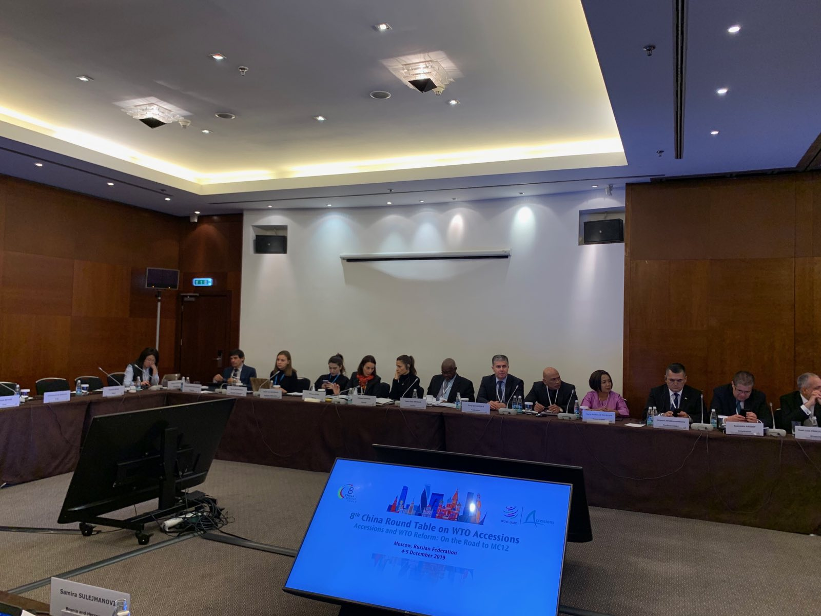 Tajikistan's position on trade initiatives of the World Trade Organization (WTO) were presented in the 8th China Round Table